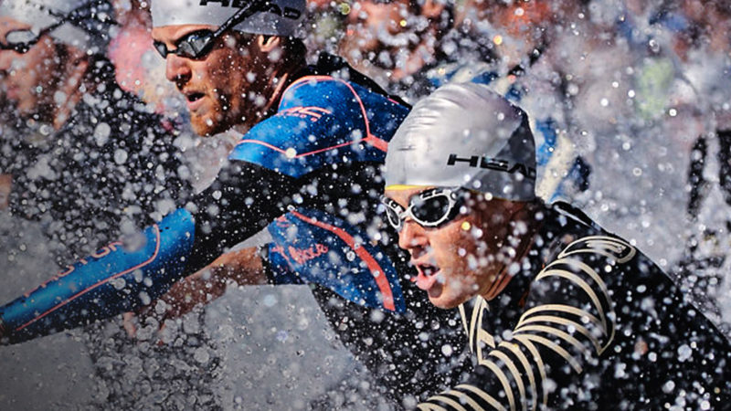 natation triathlon